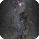 The Southern Cross, Eta Carinae & Lambda Centauri (Fixed Tripod),                                Kiko Fairbairn