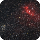 NGC7635 and M52,                                Henrique Silva