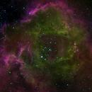 Rosette  Nebula in HOS -- IrvingPieter's Public Data,                                Richard Beck