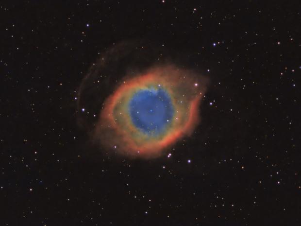 Helix Nebula LRGB,                                Jeff