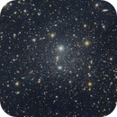 Cropped Center of the Draco Dwarf Galaxy showing 17th Mag Comet C/2019 K7 Smith,                                Dan Bartlett