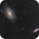M81 and M82 - LRGB from Nuremberg,                                Thomas Richter
