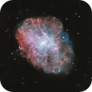 M1 - Crab Nebula (HOO + RGB Version),                                pete_xl