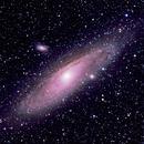M31 with my Wide-field Camera,                                David Redwine