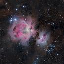 The Great Orion nebula - M42,                                Giulio