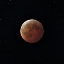 January 2019 Lunar Eclipse - Stacked Data,                                John Landreneau