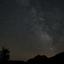 La voie lactée au col de la Pousterle,                                Sagittarius_a