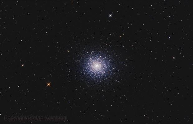 M13 Globular Cluster,                                Stefan Westphal