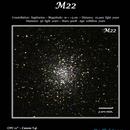 Globular Star Cluster M22,                                Phil Segre