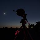 Conjunción Venus, Júpiter y Luna,                                Roberto Ferrero