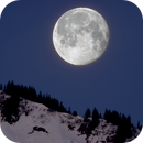 Moon setting 30 March 2021,                                Bernhard Noichl