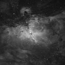 Eagle 𝐍ebula 𝐌 𝟏𝟔 | H-Alpha 3.5nm,                                Luca Fornaciari