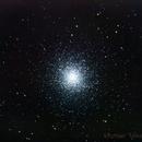 M13 Hercules Globular Cluster,                                Michael J. Mangieri