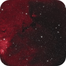 NGC 2264 Cone Nebula - testing a large-format camera on C11-Hyperstar,                                equinoxx