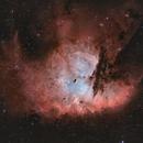 NGC 281 - Pacman in HOO,                                pete_xl