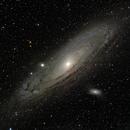 M31 Mosaic RGB,                                DerPit