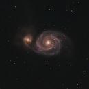 M51 Whirlpool Galaxy,                                Nick Davis