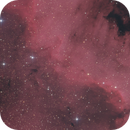 The Great Wall in NGC 7000,                                Alexander Laue