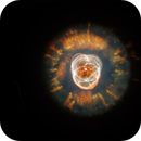 NGC 2393 Eskimo Nebula with C11 vs. Hubble (reloaded),                                Thomas Klemmer