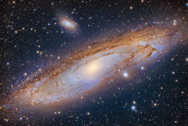 Andromeda Galaxy M31,                                Abhijit Patil