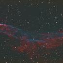 Detail of NGC 6960,                                HUEBEL