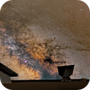 The Milky Way over Solar Structures,                                Doug Griffith