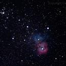 Messier 20,                                Carlos A. Archila
