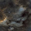 IC5069 The Pelican Nebula in Hubble Pallete,                                Tim Looi