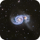Whirlpool Galaxy (M51) & neighbours  in Hα/lrgb,                                Jose Carballada
