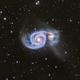 Whirlpool Galaxy (M51) & neighbours  in Hα/lrgb,                                Jose Carballada