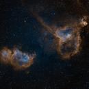 Heart and Soul nebulae,                                Spencer Hochstetler