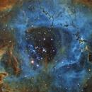 Rosette Nebula closeup,                                avarakin