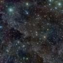 IFN near M15 Peg, faint blue planetary NGC7094 at bottom,                                Martin Mutti