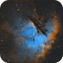 Pac-Man Nebula NGC281,                                Stan Smith