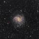 Fireworks Galaxy  NGC6946 in Cepheus  - LHaRGB,                                Arnaud Peel