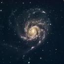 Pinwheel Galaxy (M101) in LRGB,                                Jose Carballada