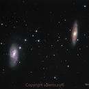 M65 & M66 (Leo galaxies),                                valerio.zuffi