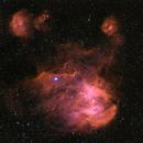 The Running Chicken Nebula,                                Ivan Hancock