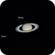 Saturn and friends,                                *philippe Gilberton
