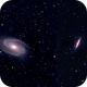 M-81 and M-82 Mosaic (Ursa Major),                                Francois Theriault