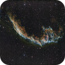 NGC 6995 Ha/OIII SII Ha OIII,                                Dave Bloomsness