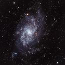 The Triangulum Galaxy (M33),                                Chuck's Astrophotography