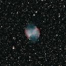 M27: Dumbbell Nebula (Full Spectrum Modified DSLR),                                Tankcdrtim