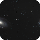 M81 Bode's Galaxy and M82 Cigar Galaxy,                                Nightsky_NL