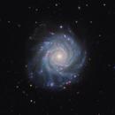 NGC 3938 (LRGB + H version),                                rhedden