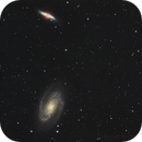 M81 & M82 (with SN 2014J) HaRGB,                                Mike Oates