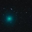 Comet 41P-Tuttle-Giacobini-Kresak Passes the Owl Nebula and Galaxy M108,                                Roger Clark