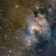 Cave Nebula/Sh2-155,                                John Kroon