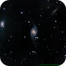 NGC3718 (center) + NGC3729 (left) galaxies in Ursa Major,                                Mataratzis
