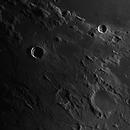 Moon 2020-08-25. Terminator on Mare Vaporum. Julius Caesar, Sinus Honoris, Manilius, Menelaus,                                Pedro Garcia